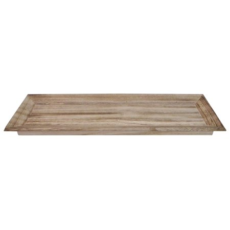 Wood Tray Long Rectangle 26.75