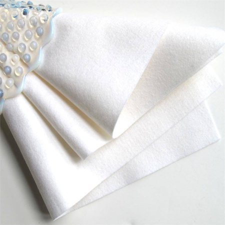 "BalsaCircle White 10 pcs 9"" x 12"" Felt Craft Fabric Sheets - Sewing Crafts Draping Decorations Supplies"
