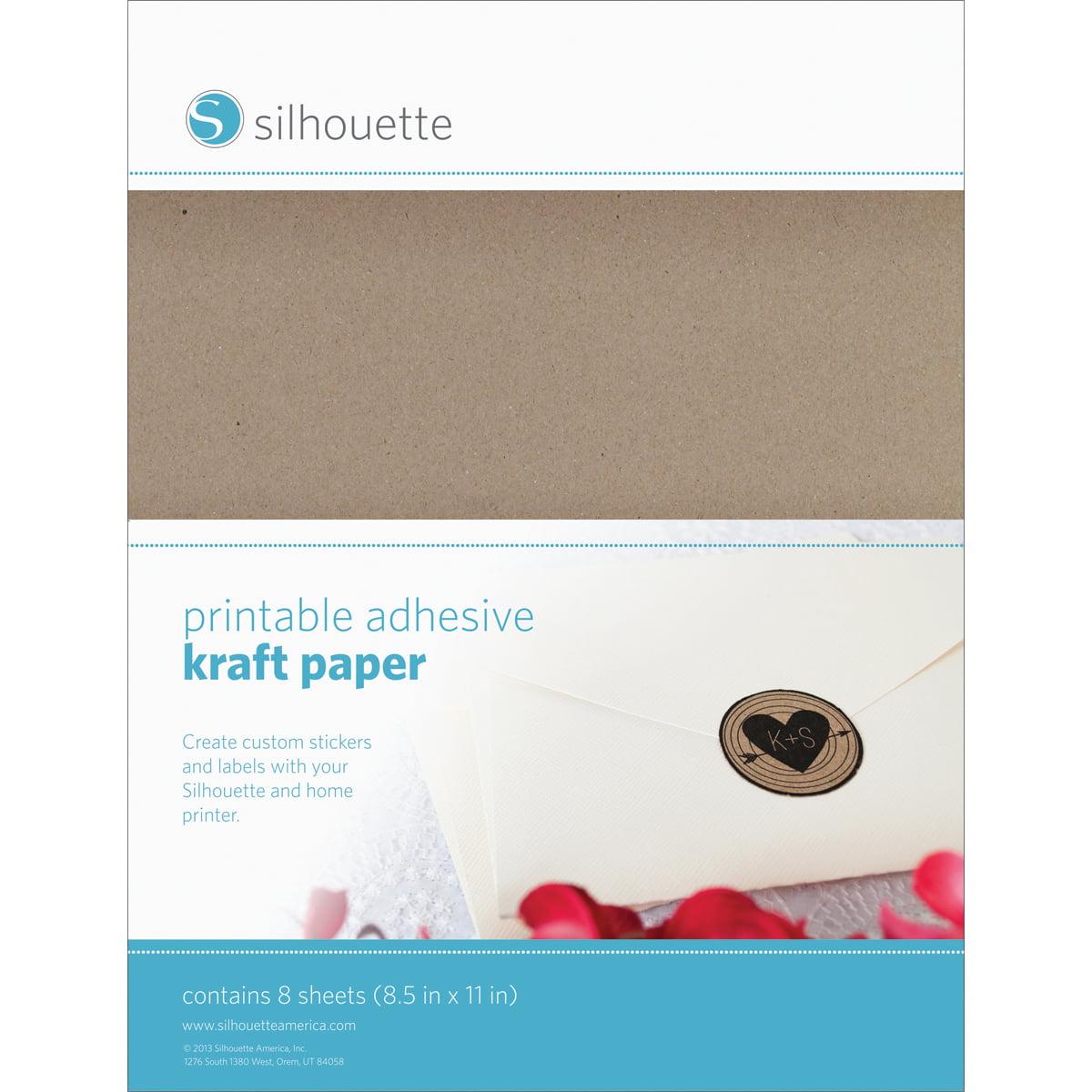 "Silhouette 8.5/""X11/"" Foil Transfer Sheets 6//Pkg Gold 819177020298"