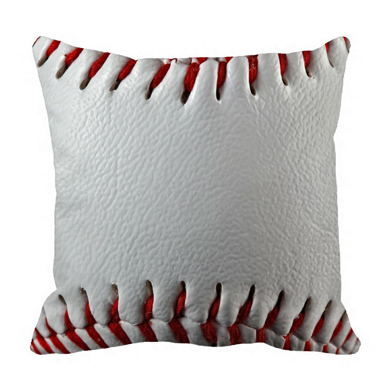 Throw Pillow Gift Pillow Sports Pillow Home Decor 16x16 Pillow Football Pillow Teenager Pillow Baseball Fan Decorative Pillow