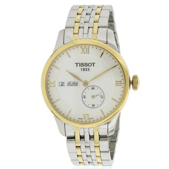 Tissot Le Locle Automatic Silver Dial Two-tone Men's Watch (T0064282203800)