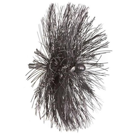 Fireplace Accessories 6'' Viper Poly Brush For 4'' Flue FCP44210 - (Fireplace Flue Cover)