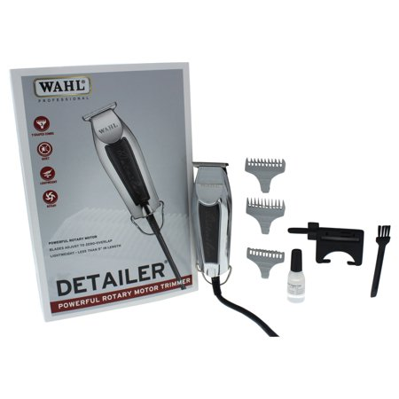 WAHL Professional Detailer - Model # 8290 - Black - 1 Pc Kit (Different Types Of Haircuts For Black Males)