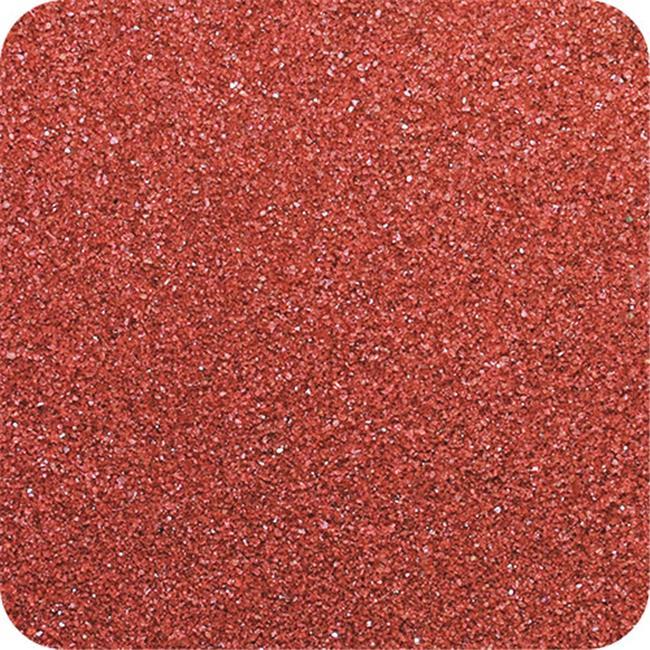 Sandtastik CS2834 Classic Colored Sand 28 oz. Bottle - Shake & Pour Lid - Cranberry