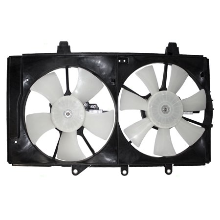 Dual Radiator A/C AC Cooling Fan Assembly Replacement for Dodge Plymouth Neon 5019212AA 5019209AA