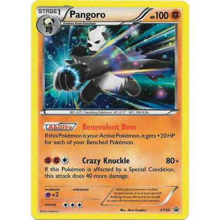 Pokemon X & Y Promo Single Card Rare Holo Pangoro XY50