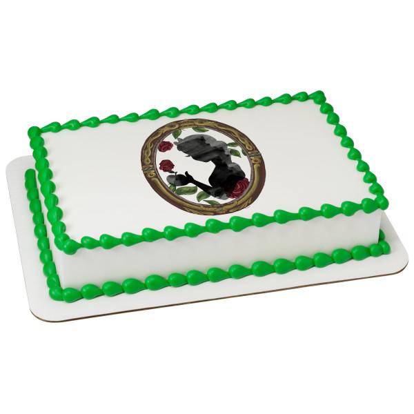 """Disney Princess Snow White Mirror 2"""" Round Cupcake Sheet Image Cake Topper Edible Birthday Party"""