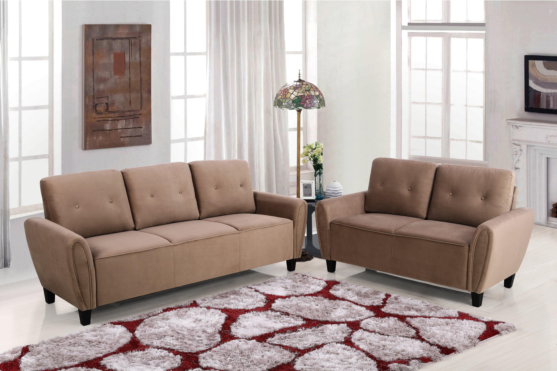 Murrill 2 Piece Living Room Set Walmart Com Walmart Com