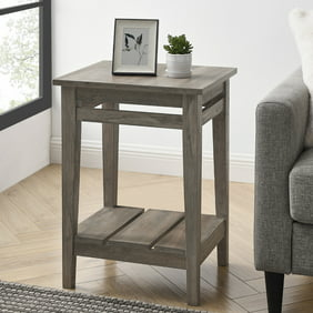 Manor Park 30 inch Square Country Coffee Table, Brushed White