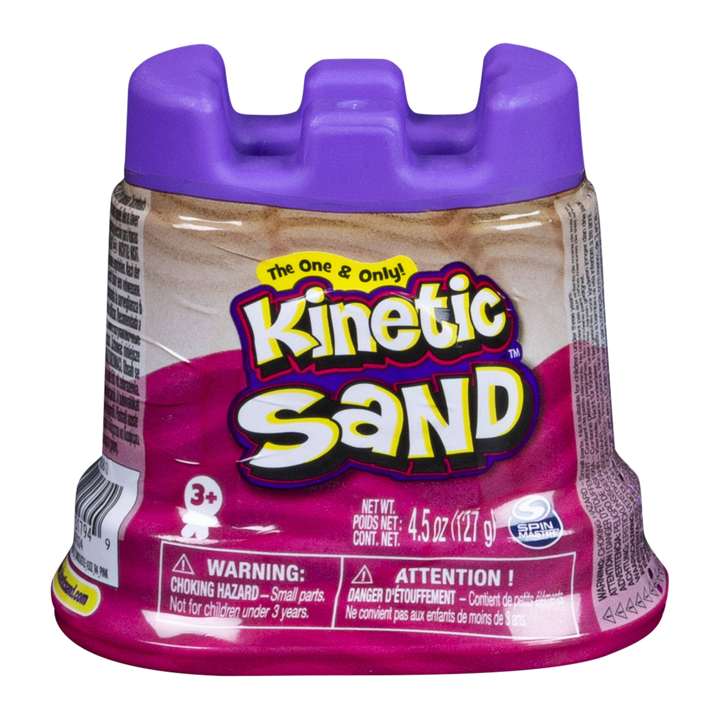 Kinetic Sand - Single Container - 4.5 oz - Pink