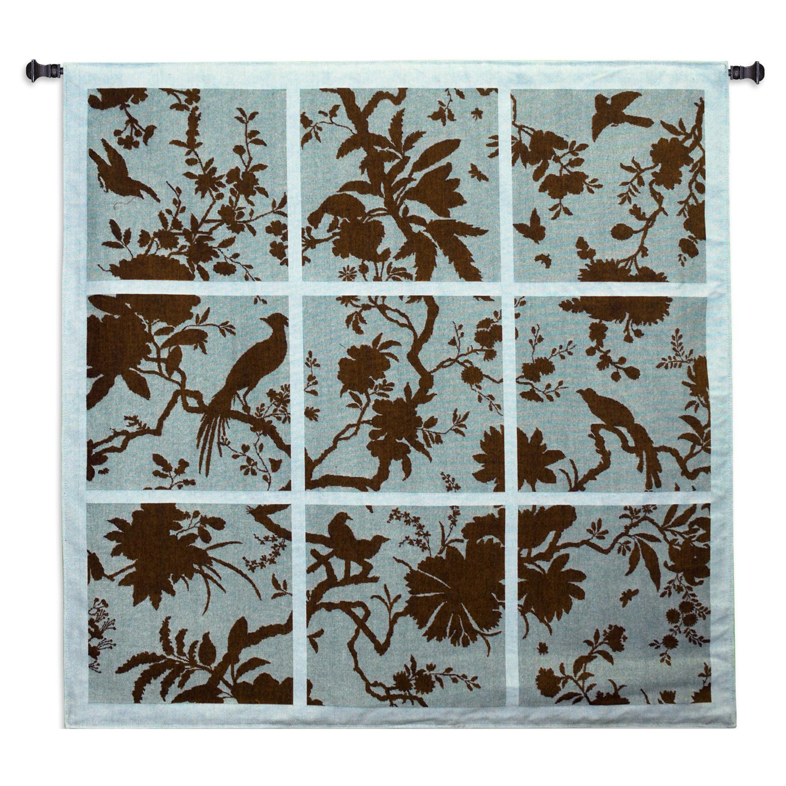 Click here to buy Fine Art Tapestries Floral Division Wall Tapestry by Pure Country Weavers.