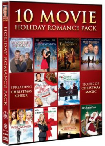 10 Movie Holiday Romance Pack by GAIAM INC