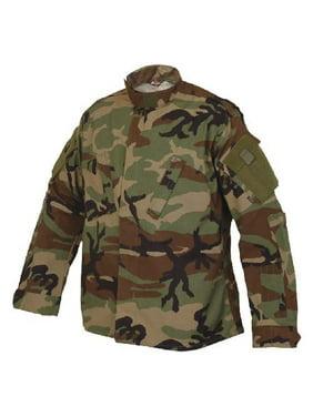 Tru-Spec TRU Long-Sleeve Shirt Poly-Cot Woodland L-Short 1274045