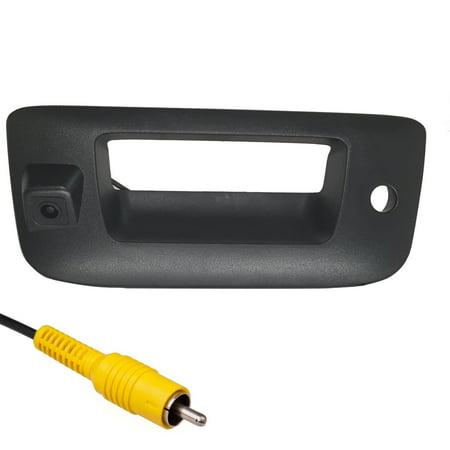 - Master Tailgaters Chevrolet Silverado/GMC Sierra 2007-2013 BLACK Tailgate Backup Reverse Handle with Camera