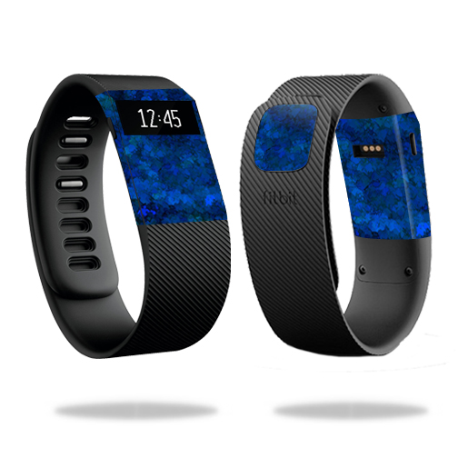 Skin Decal Wrap for Fitbit Charge cover skins sticker watch Blue Ice