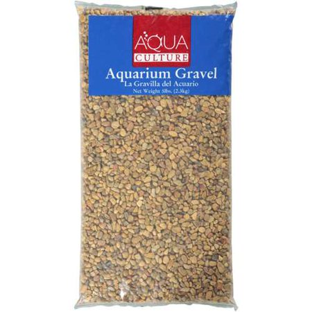 Aqua culture aztec bronze aquarium gravel 5 lb for Walmart fish gravel