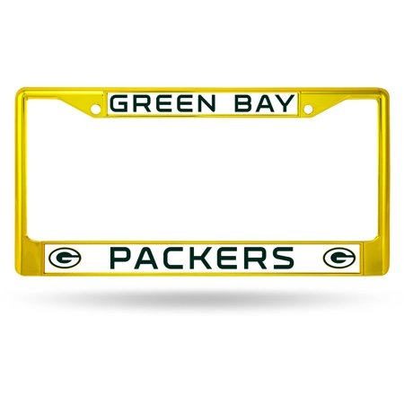 Rico Industries NFL Color License Plate Frame, Green Bay Packers