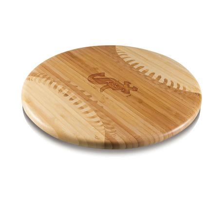 Chicago White Sox Home Run Bamboo Cutting Board - No Size - Glow Run Chicago