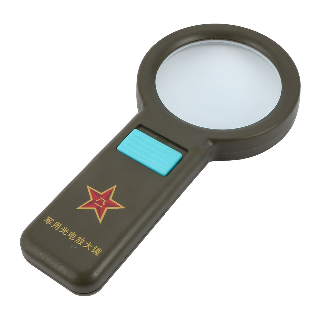 10PCS Portable Small Magnifier Plastic Magnifier Developmental Toy for Kids ca