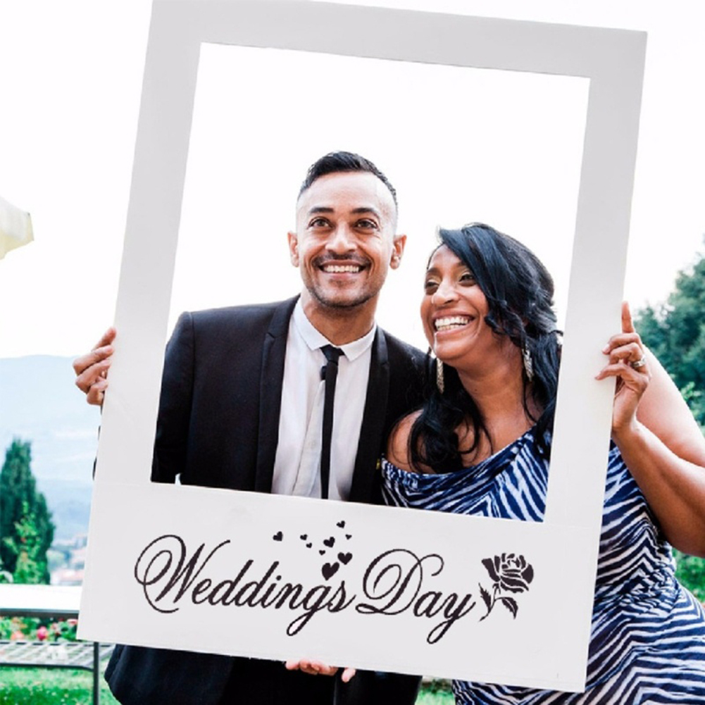 Heepo Wedding Favors Diy Anniversary Picture Frame Props Photo Booth