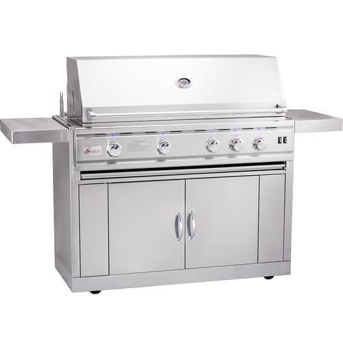 Summerset Professional Grills TRLD Propane Gas Grill with Side Shelves by Summerset Professional Grills