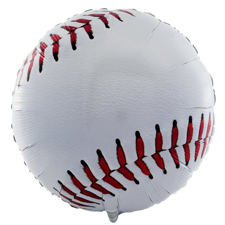 Baseball Party Supplies 2 Pack Foil Balloons