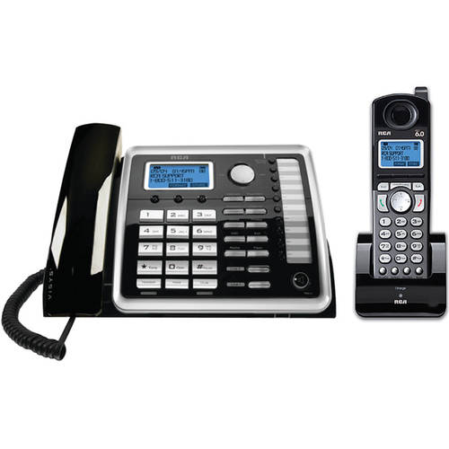 RCA 2-Line Corded/Cordless Speakerphone and ITAD