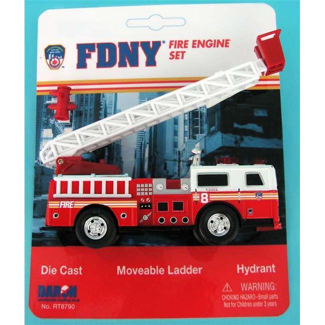 Daron RT8790 FDNY Ladder Truck Playset
