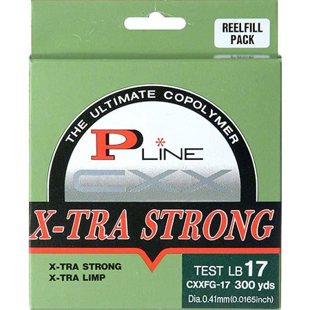 P-Line CXXFG Filler Spool Fishing Line, Moss