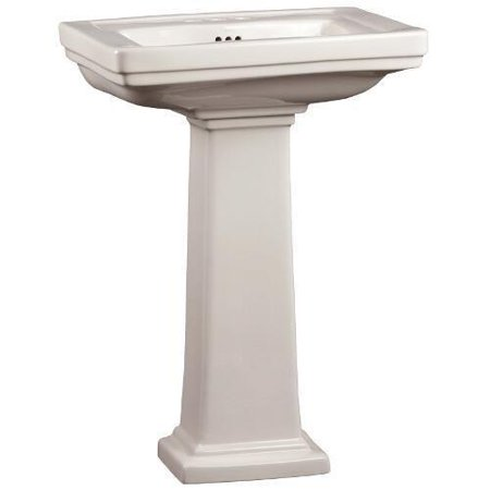 Mirabelle MIRKW354A Pedestal Sink Key West Fixture Vitreous China ...