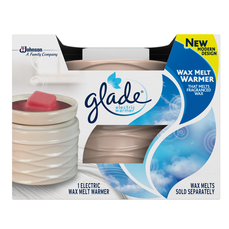 Glade Wax Melts Air Freshener Warmer, Sandy, 1 warmer