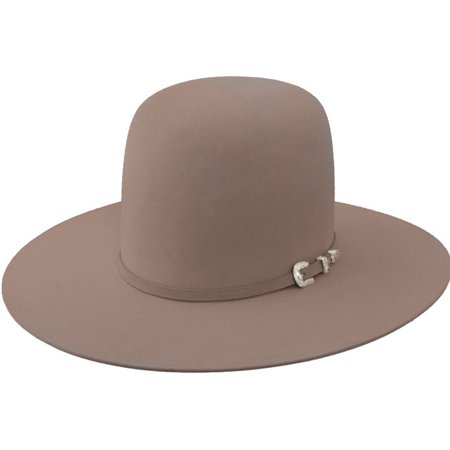 Resistol Resistol Mens 20x Tarrant Natural Open Crown Felt Cowboy