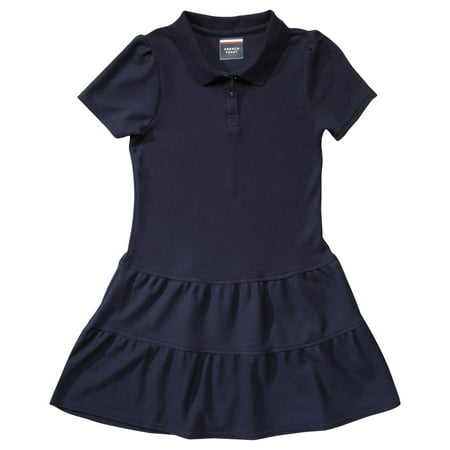 Kids Clothing Stores Online (French Toast Girls 4-16 School Uniform Short Sleeve Ruffle Pique Polo)