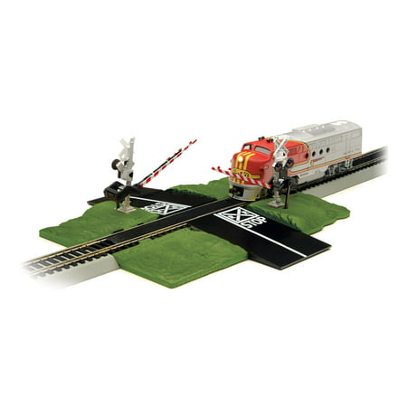 Bachmann Trains N Scale Locomotive Train Track Crossing Gate and Road | 44879