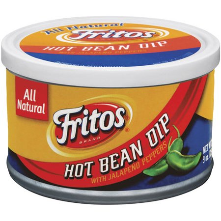 (2 Pack) Fritos Hot Bean Dip with Jalapeno Peppers, 9