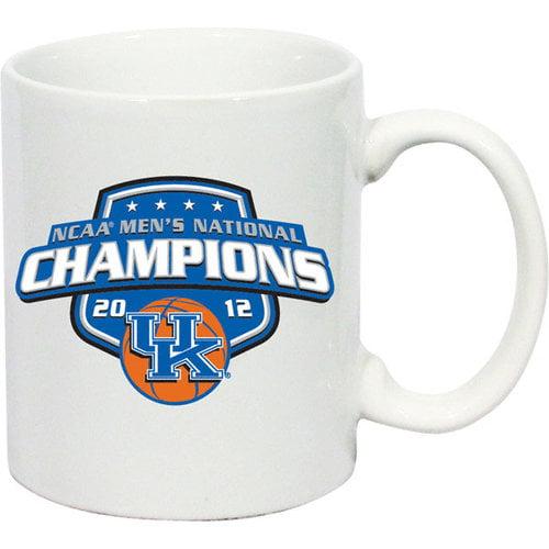 NCAA - Kentucky Wildcats 2012 NCAA Basketball National Champions 11 oz. C-Handle White Mug