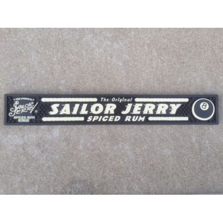 Sailor Jerry Spiced Rum Professional Series Bar Mat - 8 Ball Edition, (1) Professional Grade Sailor Jerry's Bar Mat - 8 Ball Edition By Sailor Jerry (Kraken Black Spiced Rum Best Price)