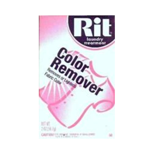 Rit Dye Powdered Fabric Dye, Color Remover, 2-Ounce
