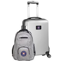 Houston Astros Deluxe 2-Piece Backpack and Carry-On Set - Silver - No Size