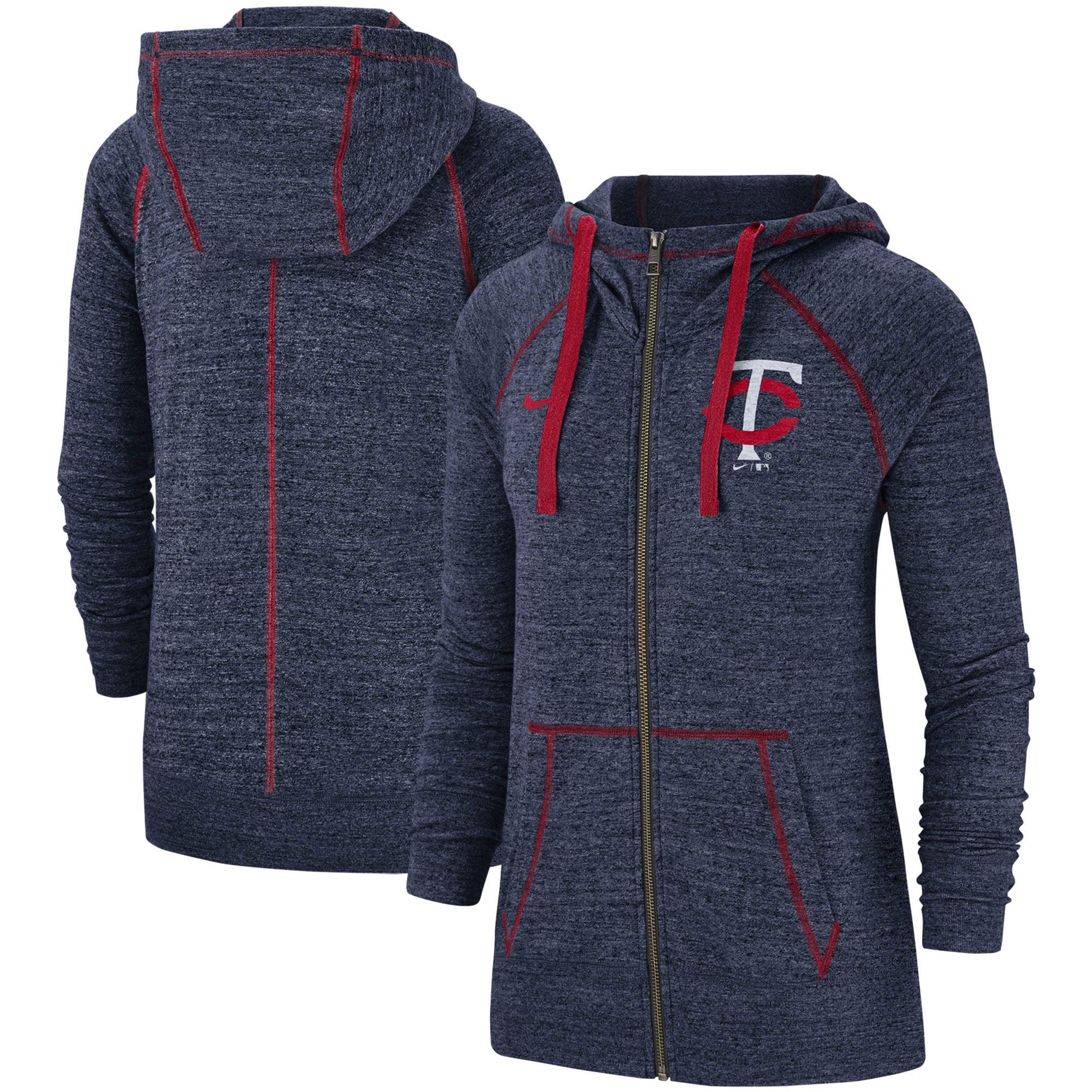 IDEOLOGY Plus Size Soft Knit Full Zip Front Heathered Hoodie Sweatshirt NWT 3X