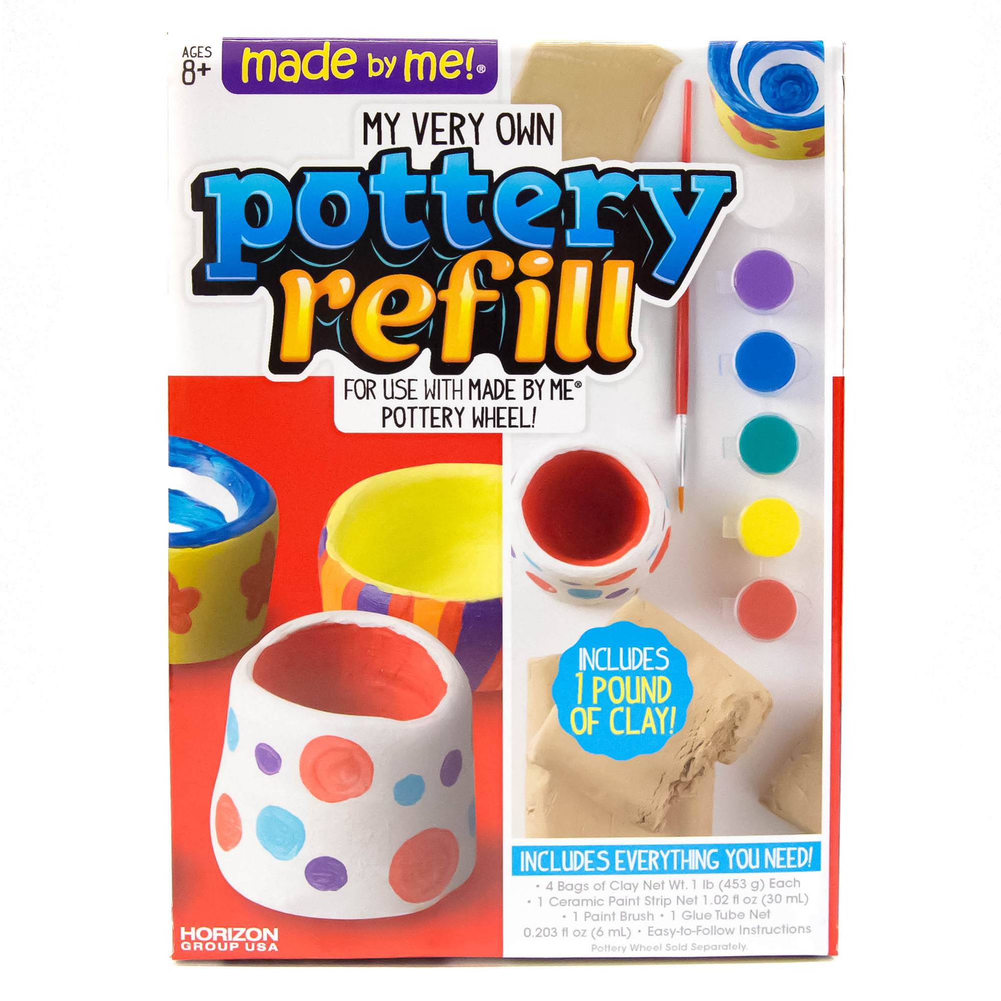 Made By Me Pottery Wheel Refill by Horizon Group USA