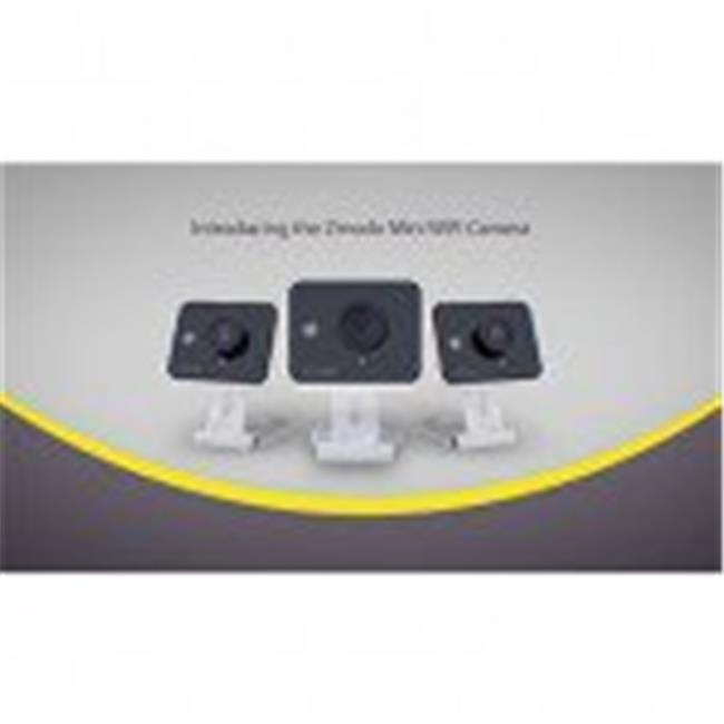Zmodo ZM-SH75D001-WA-4 Wireless Two-Way Audio HD Home Security Camera with Night Vision - Pack of 4