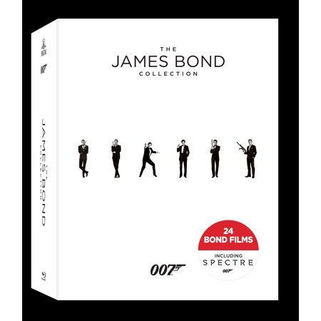 The James Bond Collection (Blu-ray) Charmayne James Collection
