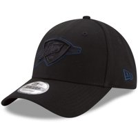 Oklahoma City Thunder New Era 9FORTY Adjustable Hat - Black - OSFA