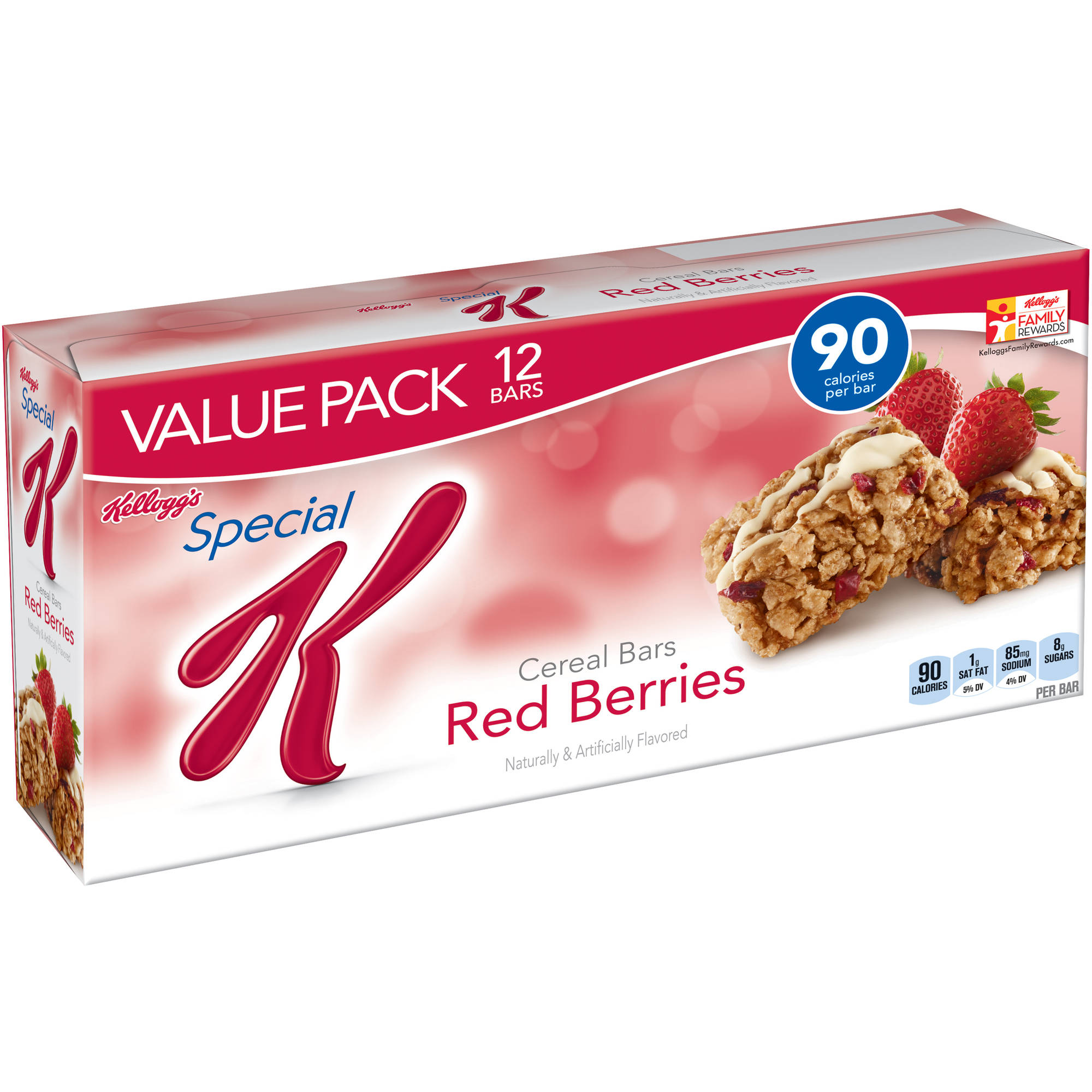 Kellogg's Special K Red Berries Cereal Bars, 12 count, 9.72 oz