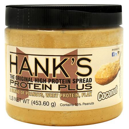 Hanks Protein Plus Peanut Protein Spread, Shredded Coconut, 16oz