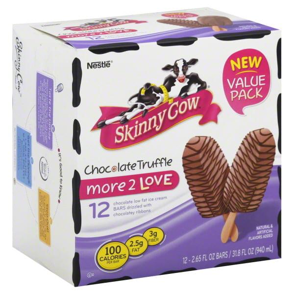 Nestle Dreyers Ice Cream Skinny Cow Skinny Cow Ice Cream Bars, 12 ea