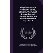 City of Boston Zip Code Area Series, Brighton, 02135, 1990 Population and Housing Tables, U.S. Census Summary Tape File 3