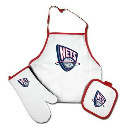 on sale 4a9ad e1da7 New Jersey Nets Grilling Apron Set
