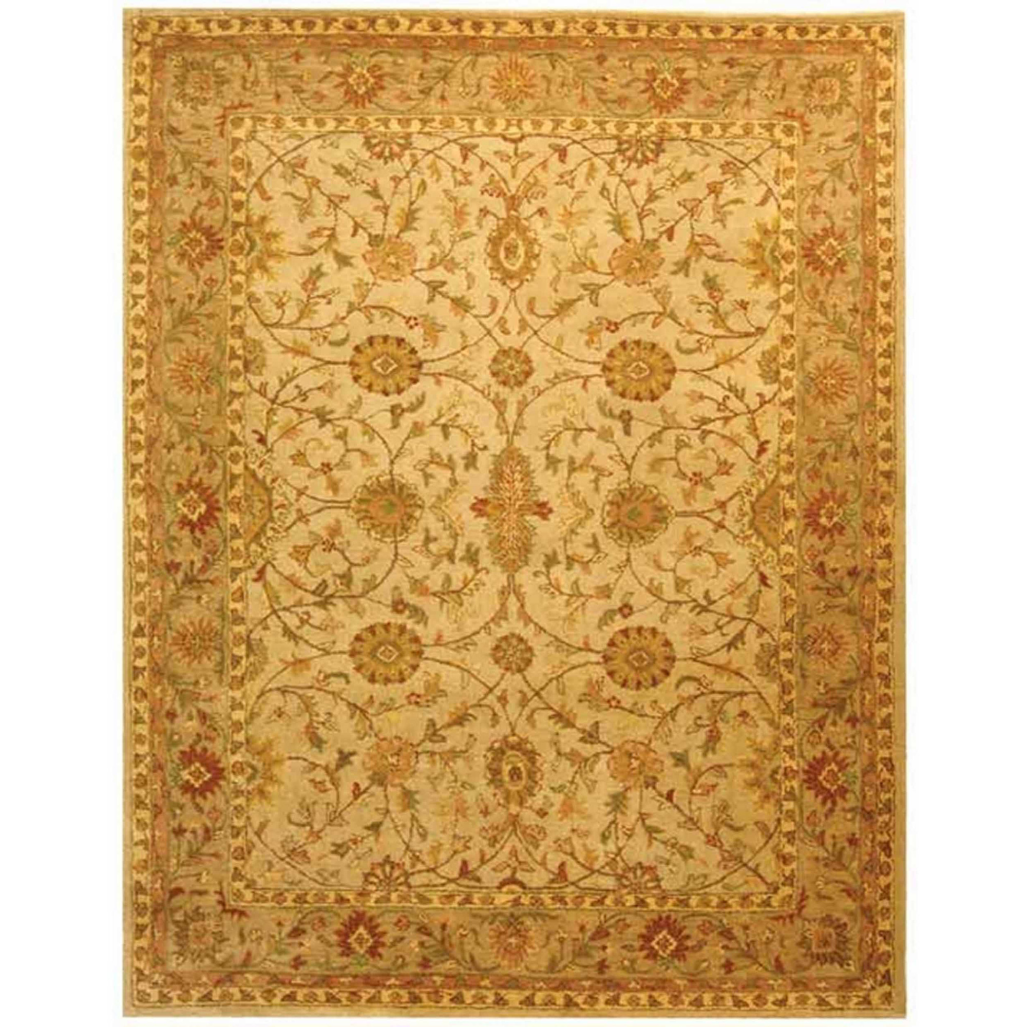 Safavieh Antiquity Ryder Hand-Tufted Wool Area Rug, Ivory/Light Green